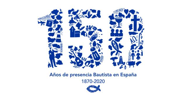 logo bautistas 150 aniversario